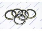 Прокладка металлорезиновая для топливной / гидравлической системы (внутренний Ø 27 мм)