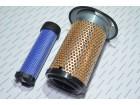 Элемент фильтра воздушного (двойная очистка) нов. образца, (K1122A) Foton 244 - (TE250.11F.1-05)